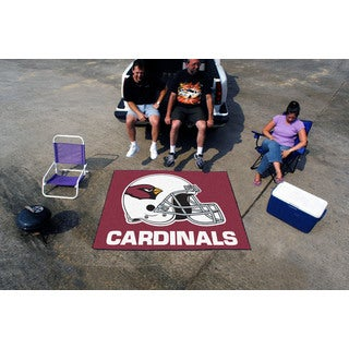 Fanmats Machine-Made Arizona Cardinals Red Nylon Tailgater Mat (5' x 6')