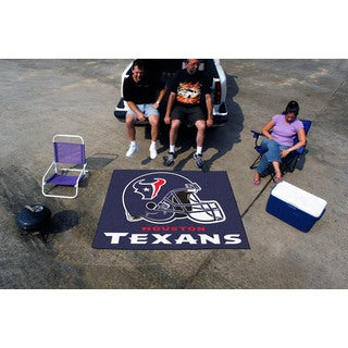 Fanmats Machine-Made Houston Texans Blue Nylon Tailgater Mat (5' x 6')