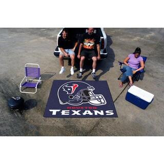 Fanmats Machine-Made Houston Texans Blue Nylon Tailgater Mat (5' x 6')