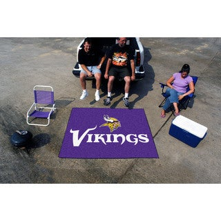 Fanmats Machine-Made Minnesota Vikings Purple Nylon Tailgater Mat (5' x 6')
