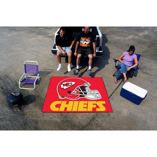 Fanmats Machine-Made Kansas City Chiefs Red Nylon Tailgater Mat (5' x 6')