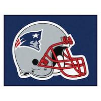Fanmats Machine-Made New England Patriots Blue Nylon Tailgater Mat (5' x 6')