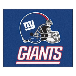 Fanmats Machine-Made New York Giants Blue Nylon Tailgater Mat (5' x 6')