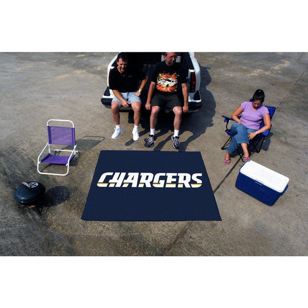 Fanmats Machine-Made San Diego Chargers Blue Nylon Tailgater Mat (5' x 6')