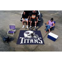 Fanmats Machine-Made Tennessee Titans Blue Nylon Tailgater Mat (5' x 6')