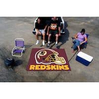 Fanmats Machine-Made Washington Redskins Burgundy Nylon Tailgater Mat (5' x 6')