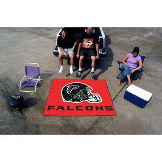 Fanmats Machine-Made Atlanta Falcons Red Nylon Tailgater Mat (5' x 6')