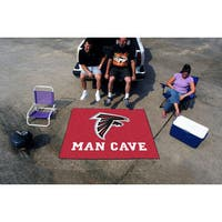 Fanmats Machine-Made Atlanta Falcons Red Nylon Man Cave Tailgater Mat (5' x 6')