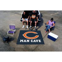 Fanmats Machine-Made Chicago Bears Blue Nylon Man Cave Tailgater Mat (5' x 6')