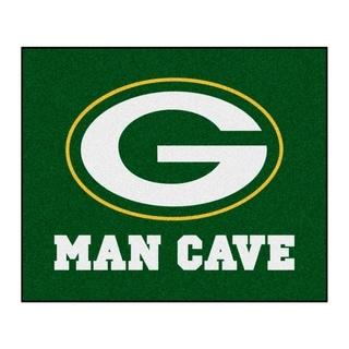 Fanmats Machine-Made Green Bay Packers Green Nylon Man Cave Tailgater Mat (5' x 6')