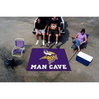 Fanmats Machine-Made Minnesota Vikings Purple Nylon Man Cave Tailgater Mat (5' x 6')