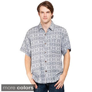 Men's Sheer Open Neck Beach Shirt (Nepal)