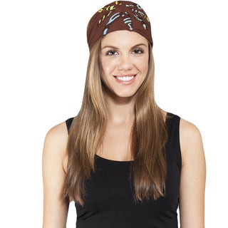 Women's Cut / Patch Active Headband (Nepal)