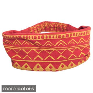 Women's Organic Cotton Reversible Headband (Nepal)