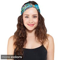 Handmade Women's turban Twisted Headband (Nepal)