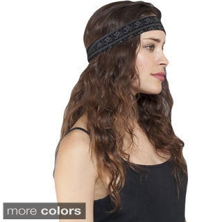 Women's Om Mantra Organic Cotton Yoga Headband (Nepal)