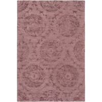 Hand-Tufted Spilsby Polka Dots Viscose Area Rug (9' x 13')