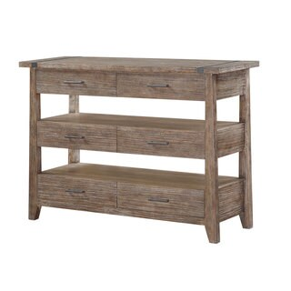 Viewpoint Washed Oak Rustic Server