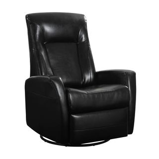 Conrad Swivel Glider Bonded Leather