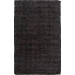 Hand-Tufted Stalham Geometric Viscose Rug (12' x 15')