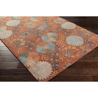 Faye Floral New Zealand Wool Rug (9' x 13')