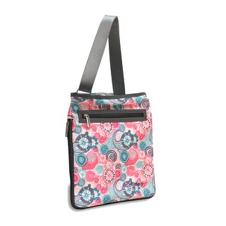 J World New York Blue Raspberry Cush Tablet Crossbody Messenger Bag