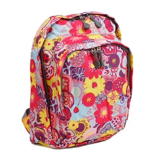 J World New York Poppy Pansy Lakonia 13-inch Mini Backpack