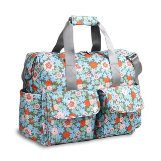 JWorld NewYork Blossoml Amber Weekender Duffel Tote Bag