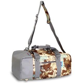 JWorld New York Atlas Duncan 22-inch 3-Way Weekender Duffel/Backpack