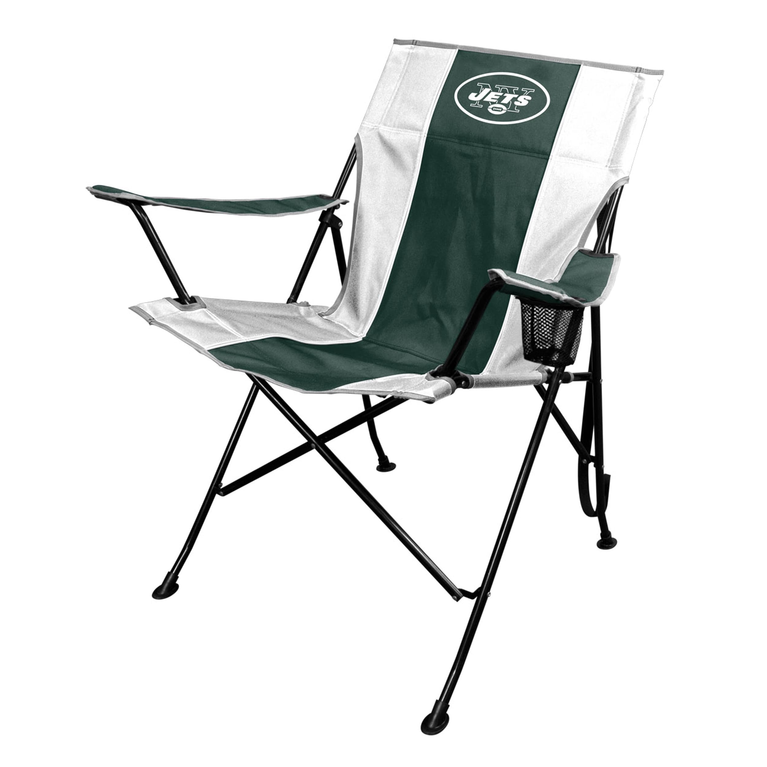 Jarden NFL New York Jets TLG8 Chair with Carrying Bag (Ne...