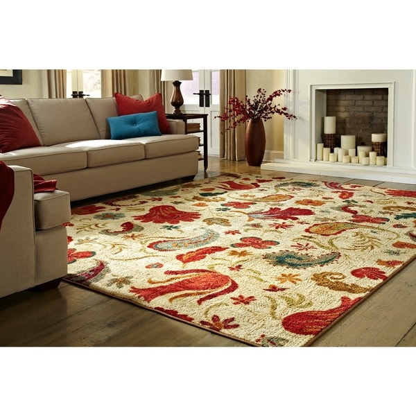 Mohawk Home Strata Tropical Acres Area Rug 7 6 X 10