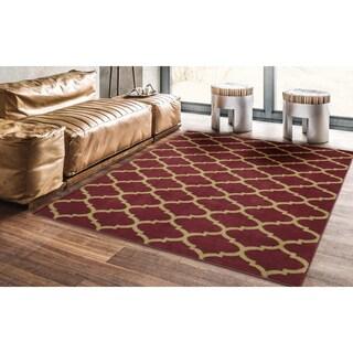 Ottomanson Royal Collection Contemporary Moroccan Trellis Design Area Rug (8' x 10') - 8' x 10' (5 options available)