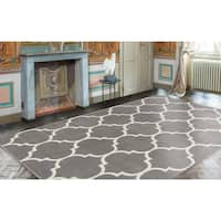 Ottomanson Royal Collection Contemporary Trellis Design Area Rug