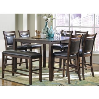 Rosely Contemporary Wood Counter Height Dining Set