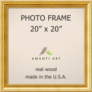 Townhouse Gold Photo Frame 23 x 23-inch