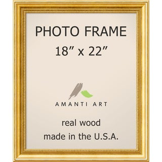 Townhouse Gold Photo Frame 21 x 25-inch