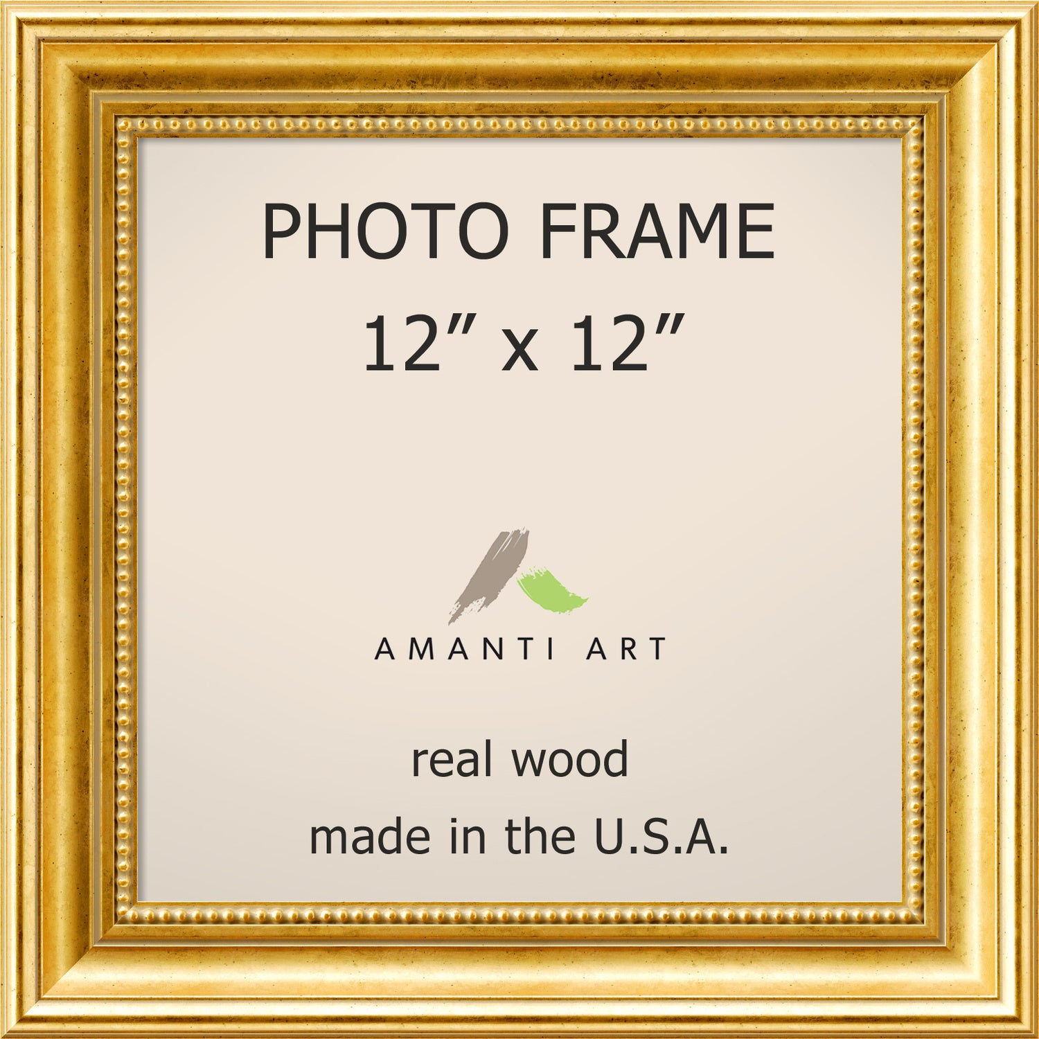 Gold Townhouse Photo Frame 15 x 15-inch (Gold Photo Frame...