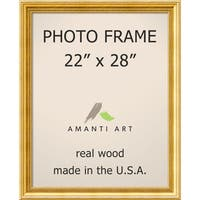 Townhouse Gold Photo Frame 25 x 31-inch