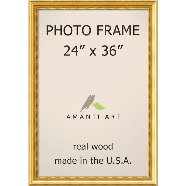 Shop Townhouse Gold Photo Frame 27 X 39 Inch On Sale Free