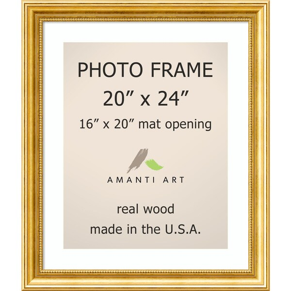 Shop Townhouse Gold Photo Frame 23 x 27-inch - Free Shipping Today ...