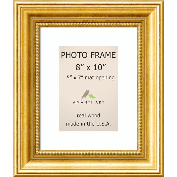 Shop Townhouse Gold Photo Frame 11 x 13-inch - Free Shipping Today ...