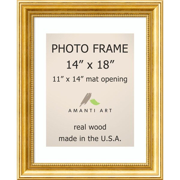 Shop Townhouse Gold Photo Frame 17 X 21 Inch Free Shipping Today