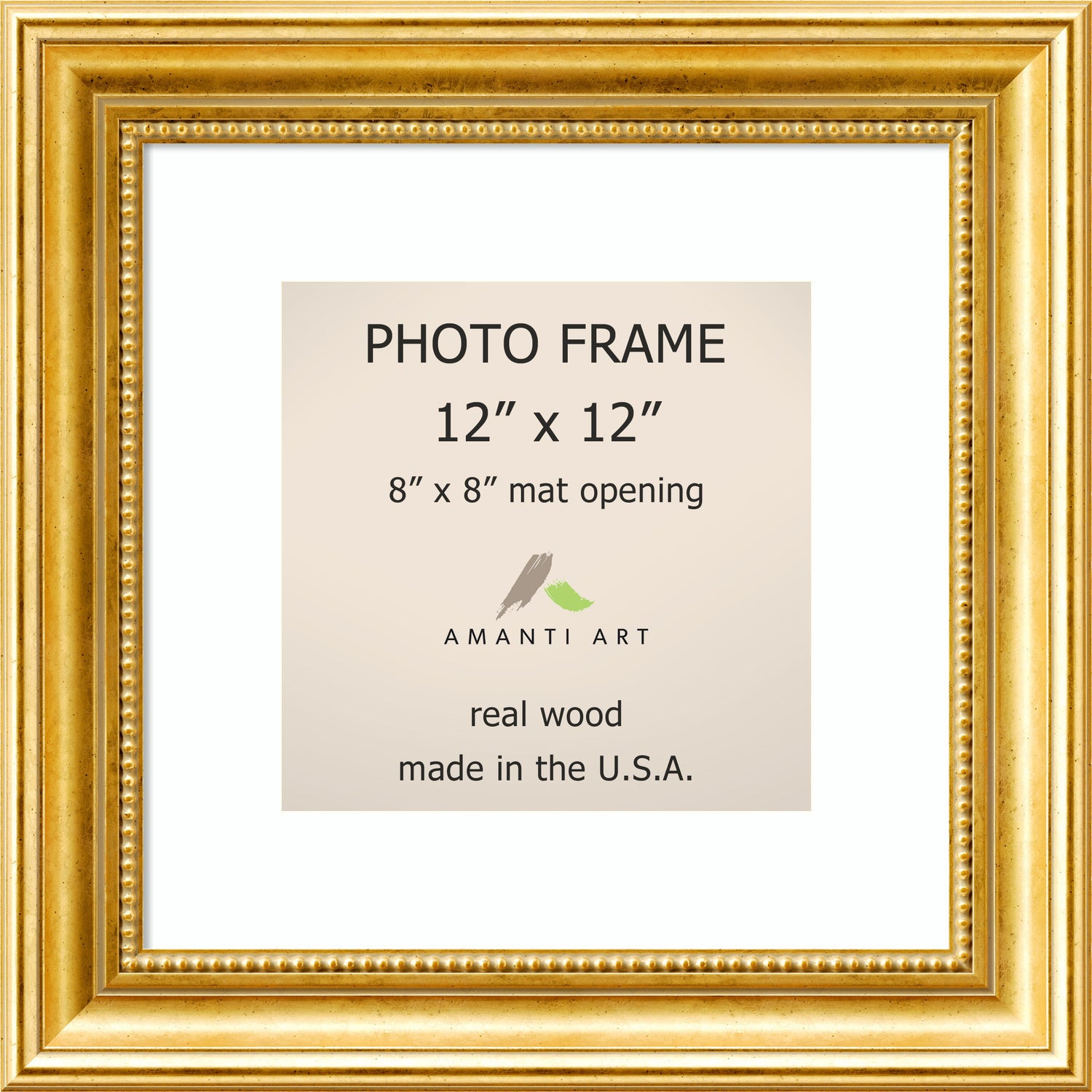 Townhouse Gold Photo Frame 15 X 15 Inch 32231285192 Ebay