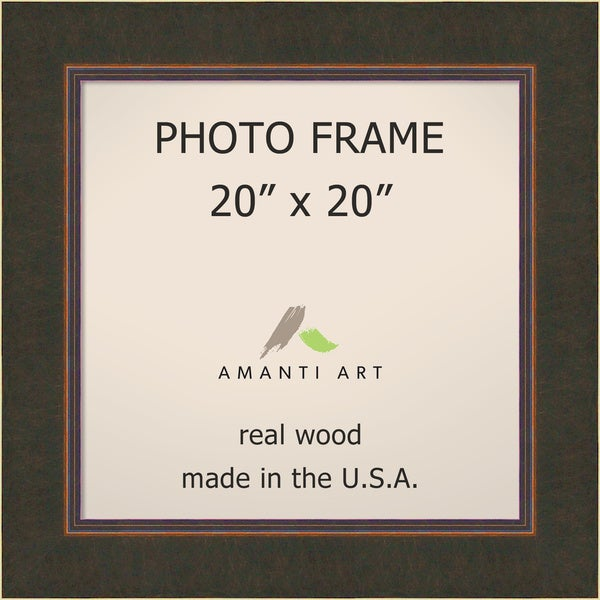 Shop Milano Bronze Photo Frame 26 X 26 Inch Free Shipping Today