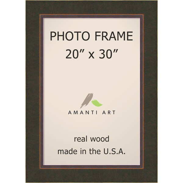 Shop Milano Bronze Photo Frame 26 X 36 Inch Free Shipping Today