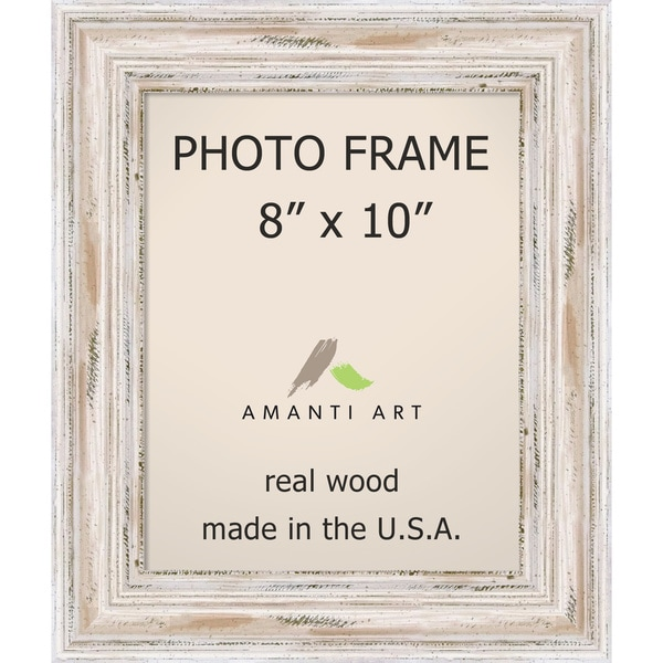 Alexandria Whitewash Photo Frame 11 x 13-inch
