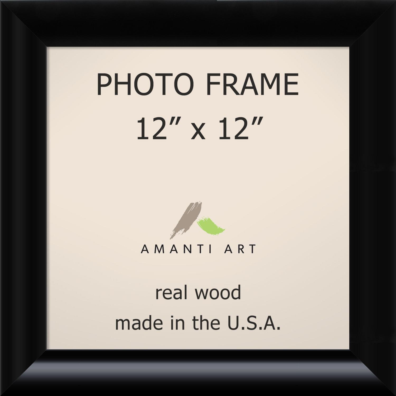 Black Steinway Photo Frame 15 x 15-inch (Black Photo Fram...