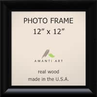 Black Steinway Photo Frame 15 x 15-inch