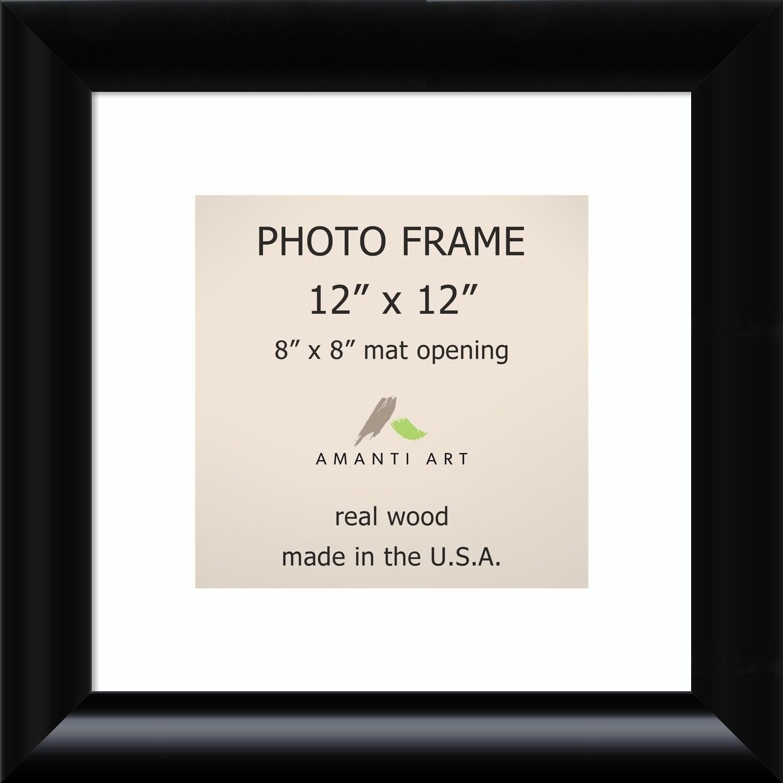 Steinway Black Photo Frame 15 x 15-inch (Black Photo Fram...