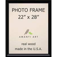 Steinway Black Photo Frame 25 x 31-inch